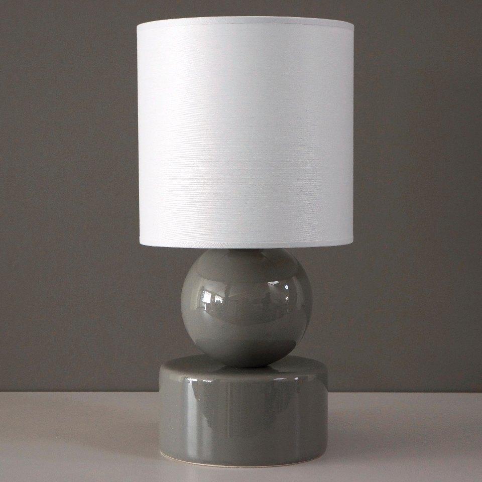 Lampka nocna PERLA I w wersji szarej