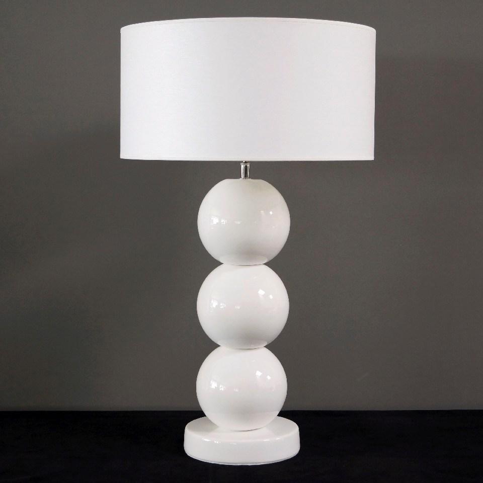 Lampa gabinetowa PERLA III w bieli
